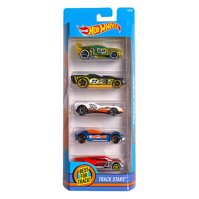 Kit 5 Caros - Hot Wheels