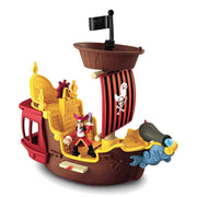 Navio Jolly Roger - Pirata Jake - Fisher-Price