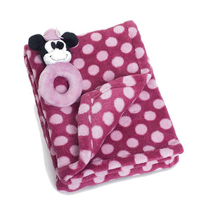Cobertor  - Minnie Mouse com Chocalho
