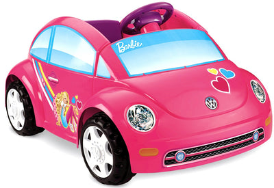 Carro Eletrico Fusca Conversivel - Fisher-Price 6-Volt - Barbie