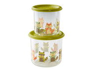 Boa Lunch Snack Containers Large O que a raposa comeu - Sugarbooger