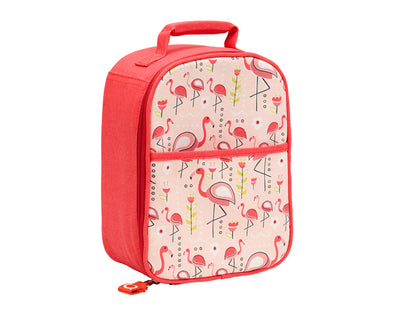 Tote do almoço de Zippee Flamingo - Sugarbooger