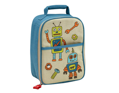 Lunch Tote Retro Robot - Sugarbooger