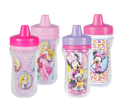 O primeiro ano Disney Minnie Mouse e Princesa Duplas Sippy Cup - 9 oz, 4 pack