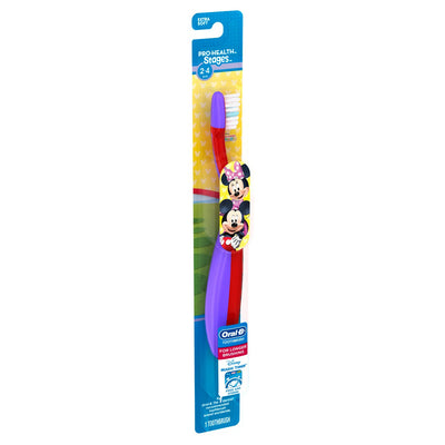 Oral-B Pro-Health Stages Manual Toothbrush com Disney Minnie Mouse - 1ct