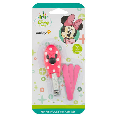 Segurança 1ª Disney Baby Minnie Mouse Nail Care Set