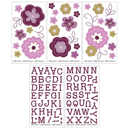 Adesivos para Decorar - Pretty in Purple - NoJo