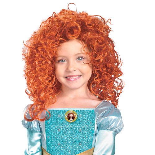 Peruca Merida - Disney