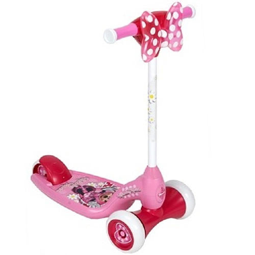 Patinete Scooter Luz e Som - Minnie Mouse