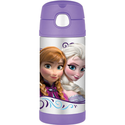 Copo com Canudo - Frozen 295ml - Thermos