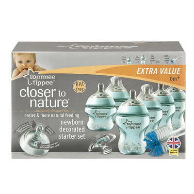Kit Completo Mamadeiras Azul - Tommee Tippee