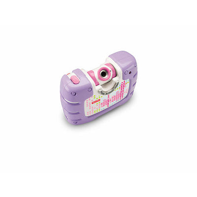 Câmera Tough See Yourself Pink e Roxa - Fisher-Price