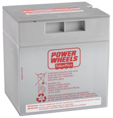 Bateria Power Wheel - Fisher Price - 12V