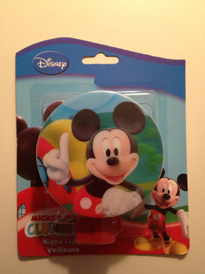 Night Light - Luminaria de Parede - Mickey Mouse - Disney