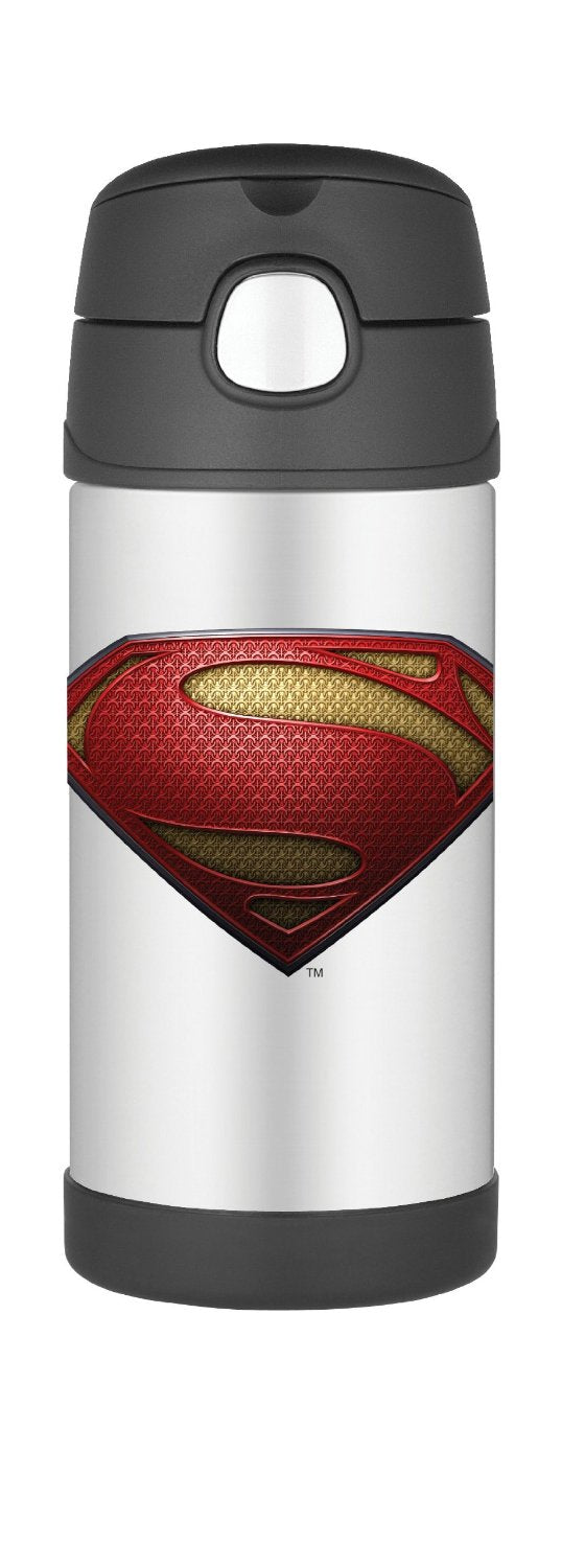 Copo com Canudo - SuperMan 295ml - Thermos