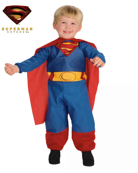 Fantasia Superman - 2 a 3 Anos