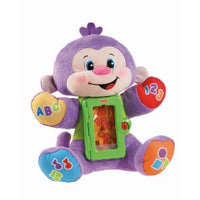 Macaquinho de Pelucia - Apptivity - Fisher Price