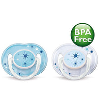 Chupeta Avent Philips - Night Time - 0 a 6 Meses