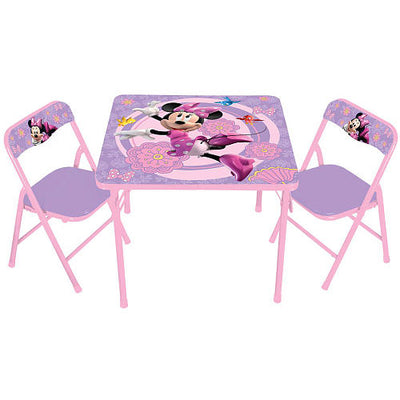 Mesa e Cadeira - Minnie Mouse - Disney