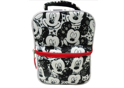 Disney Mickey Mouse e amigos Minnie Mouse Lunch Bag - preto / branco