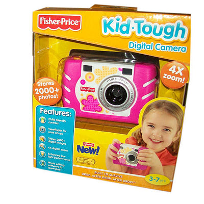 Câmera Digital Pink - Fisher-Price