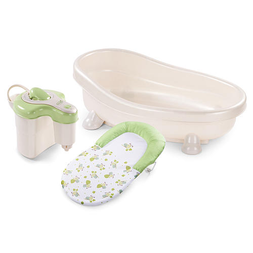Banheira Soothing Spa & Chuveiro - Summer Infant - Verde