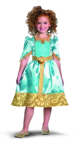 Fantasia Merida 7 a 8 Anos - Disney