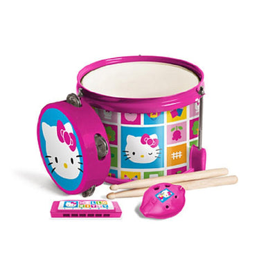 Kit de Percussão - Hello Kitty - First Act