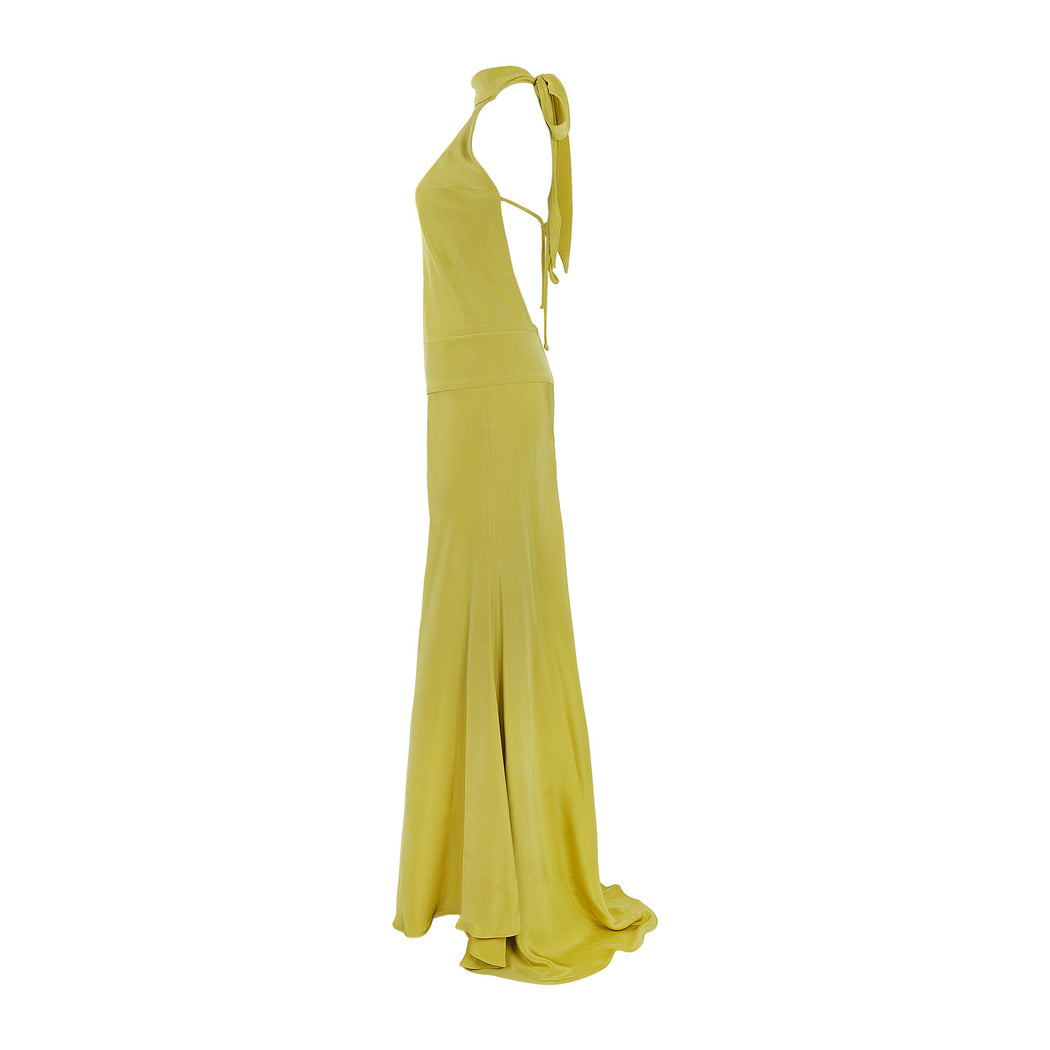 STUDIO CITY HALTER GOWN