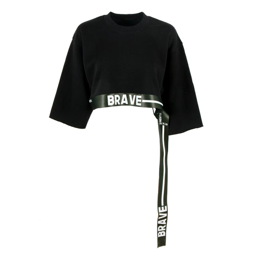 BRAVE CROP SWEATER