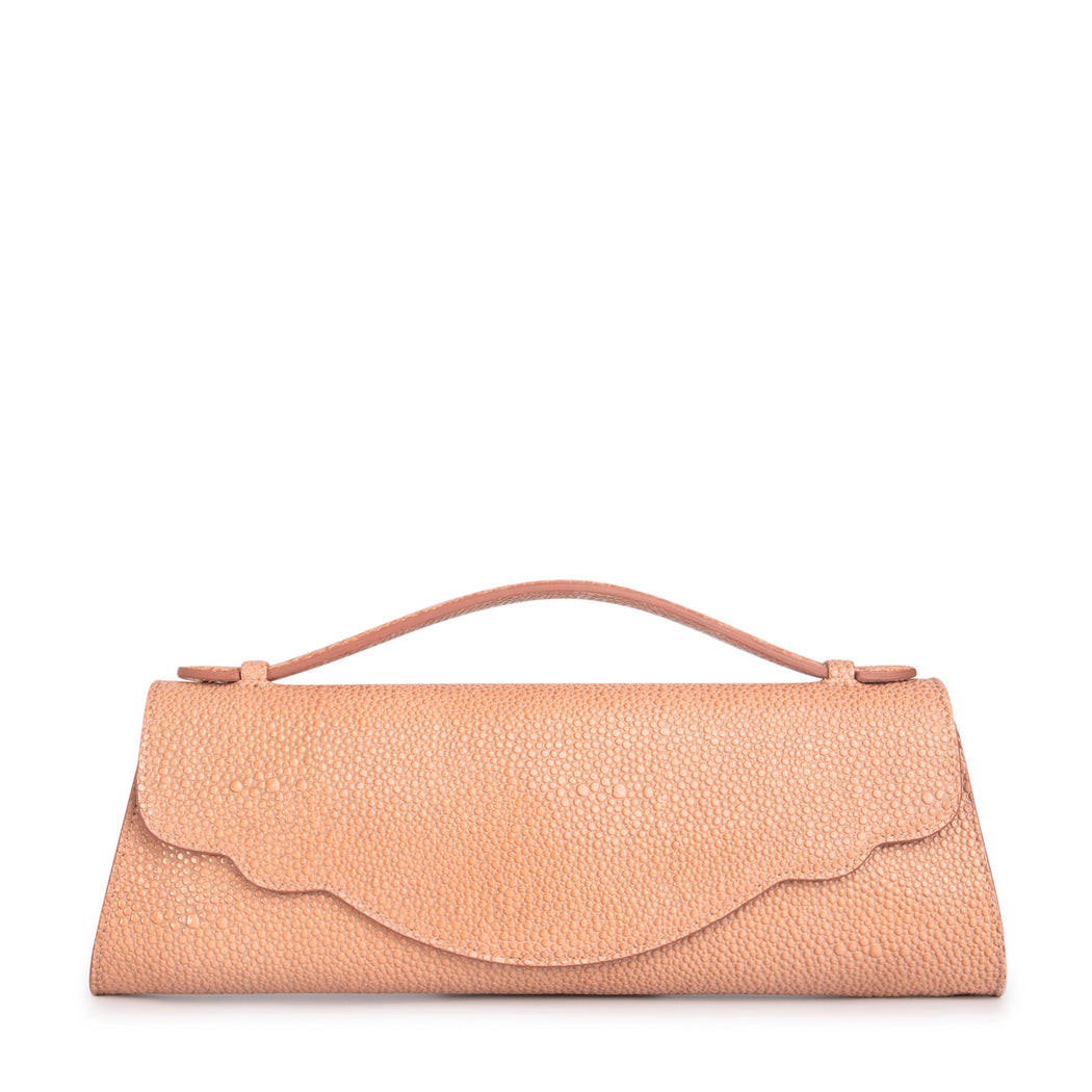 Audrey Stingray Evening Clutch: Blush