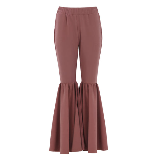Bell Trousers in Mauve