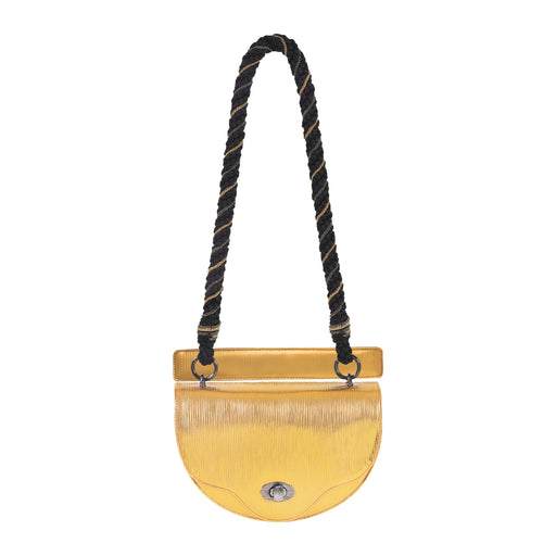Crescent Crossbody with Rope Chain