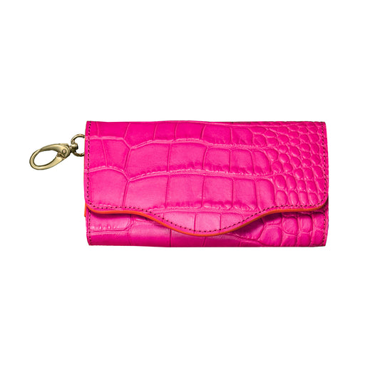 Audrey Eyeglass Case - Hot Pink