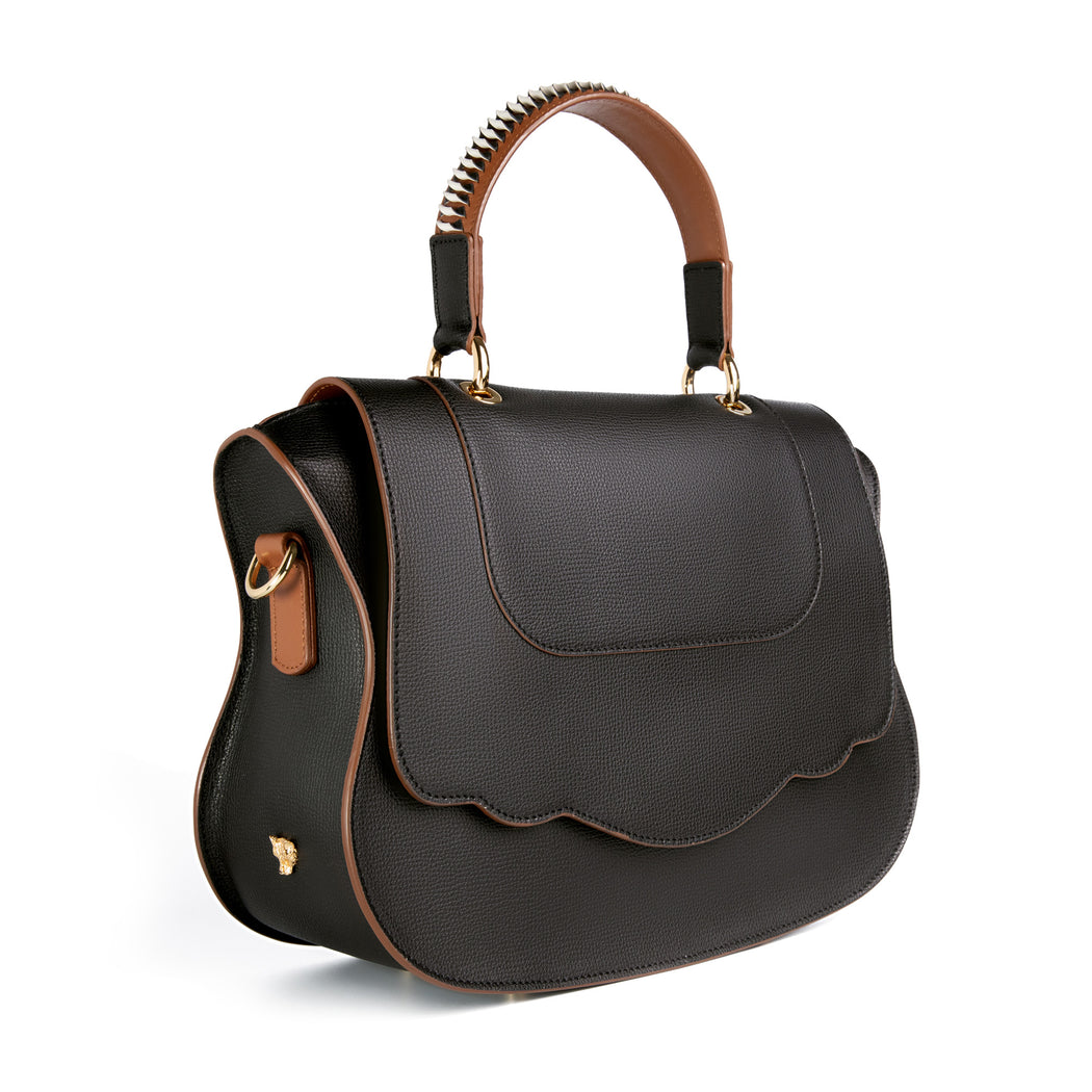 Audrey Artisan Handle Satchel