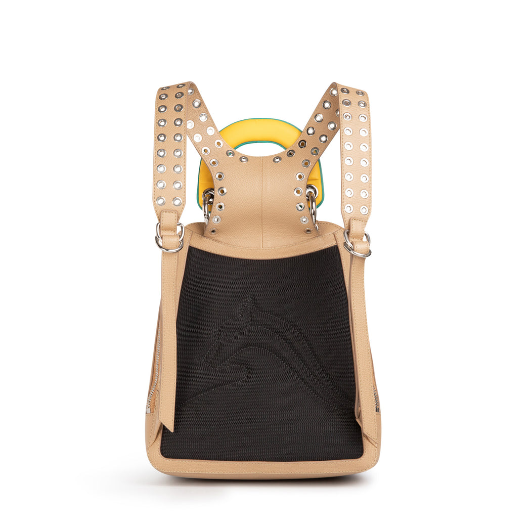 Racer Mini Leather Backpack
