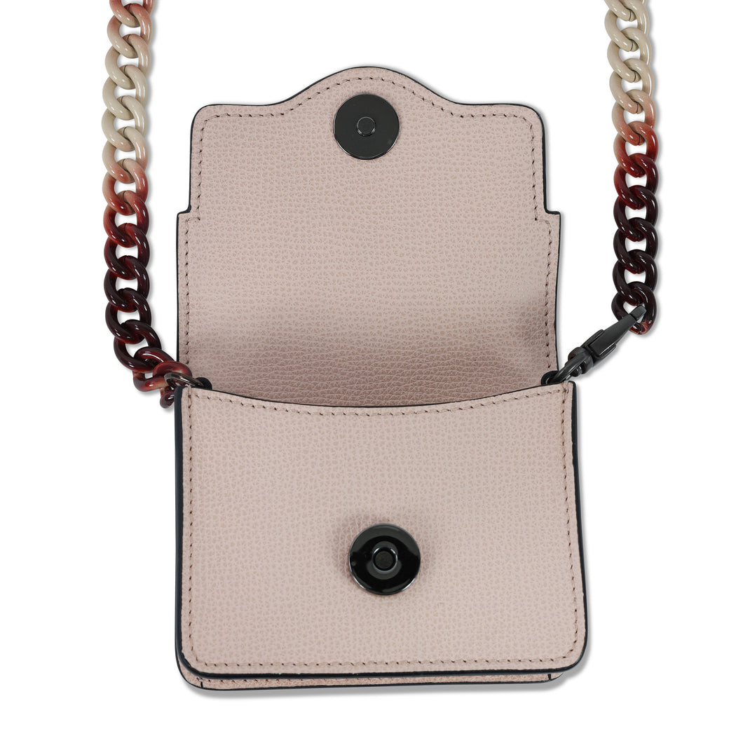 Audreyette Micro Crossbody in Blush