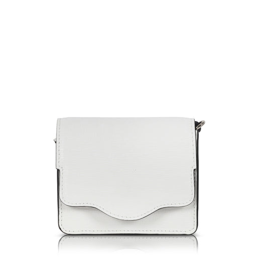 Audreyette Micro Crossbody in White