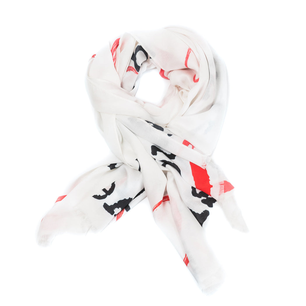 Happy Scarf - Grande Print