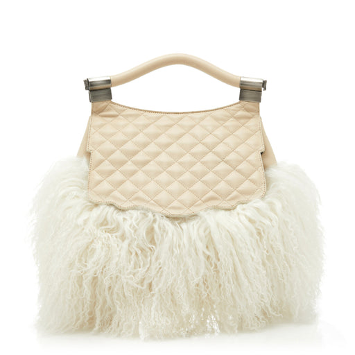 Audrey Backpack: Women's Designer Backpack in Ivory