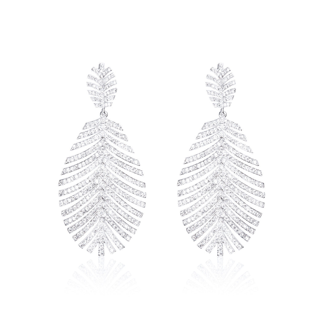 Palm Swarovski Earrings