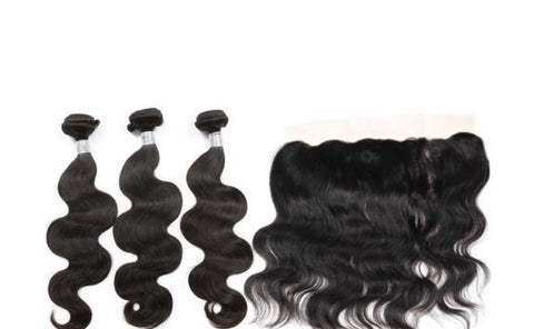 KKH Bodywave Frontal & Bundle Deal