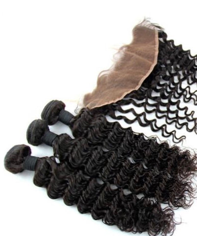 KKH Kinky Kurly Bundles & Closure Deal