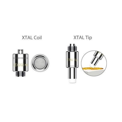 The Yocan Nectar Collector Replacement Tip XTAL Coil XTAL Vaporizer thc herb weed wax shatter pen kit