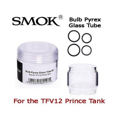 Smok TFV12 Prince Bulb Pyrex Replacement Glass (single)