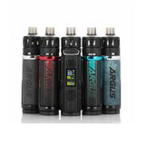 VOOPOO Argus Pro 80W Pod Mod Kit, featuring the GENE.TT Chipset, various output modes, and compatibility with the PnP Coil Series. Hewn from durable zinc-alloy and accented with hints of leather, the Argus Pro delivers a great hand feel. Ergonomically fitting within the hand, the Argus Pro can be brought around safely using the lanyard attachment point.