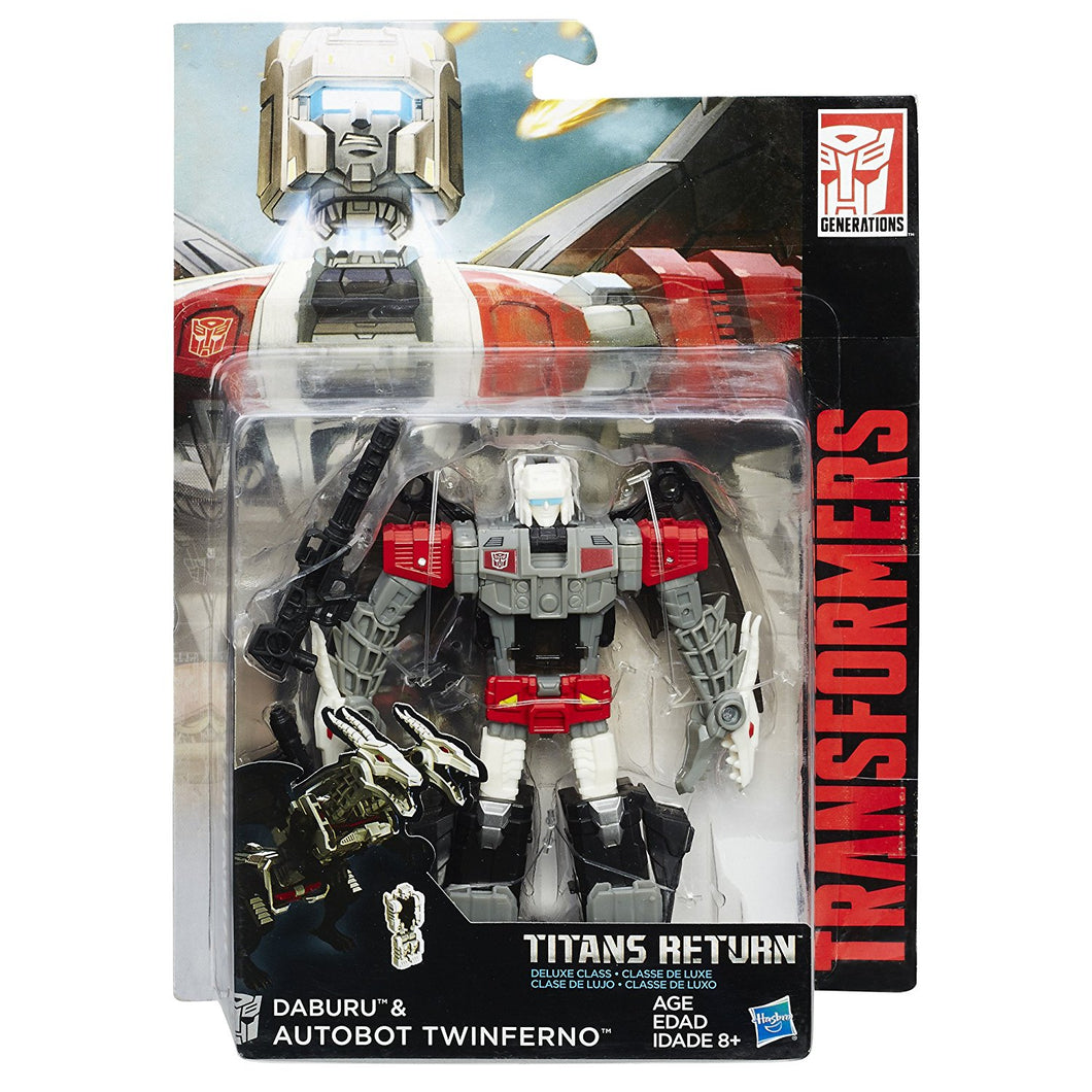 Transformers Generations Titans Return Autobot Twinferno and Daburu