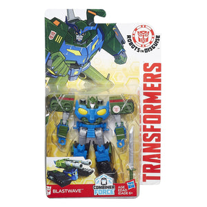 Transformers Robots in Disguise Warrior Class Blastwave Figure