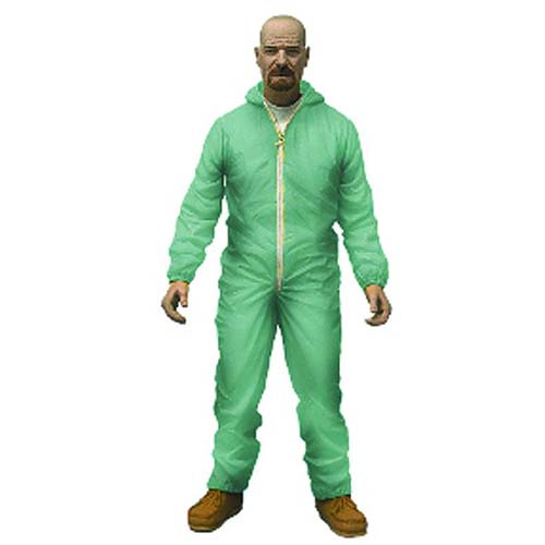 Breaking Bad Walter White Previews Exclusive Hazmat Suit Action Figure
