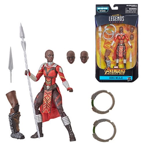 Marvel Legends Black Panther M'Baku Wave Dora Milaje 6